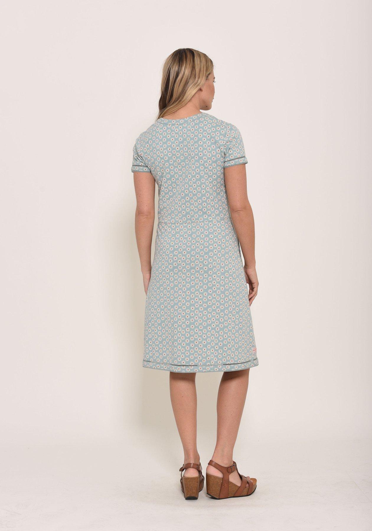 Brakeburn daisy jersey dress