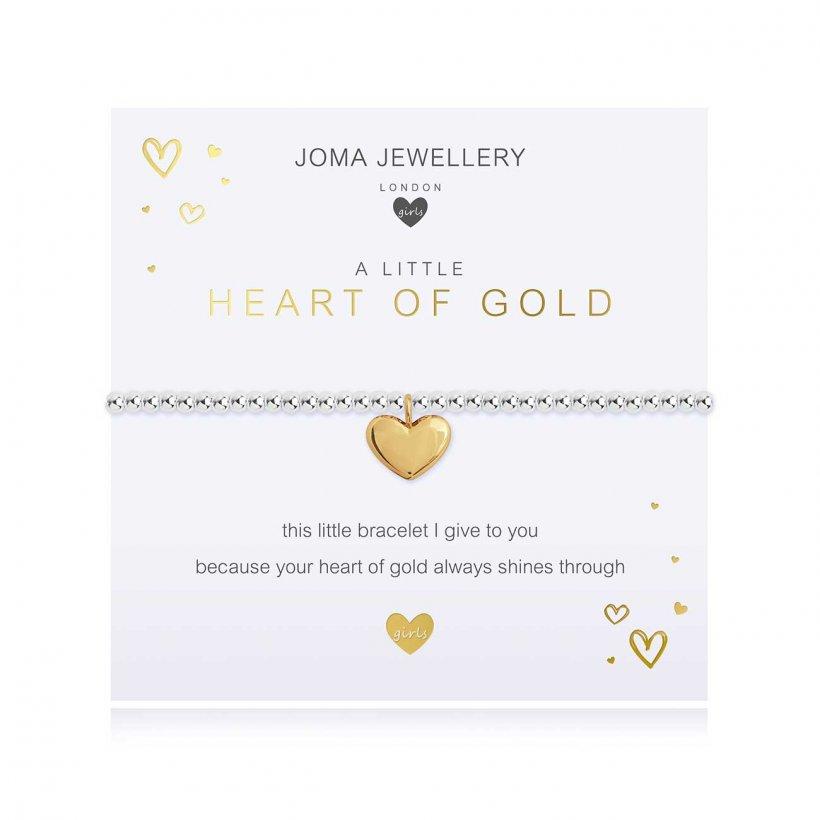 Joma Jewellery Heart of Gold bracelet