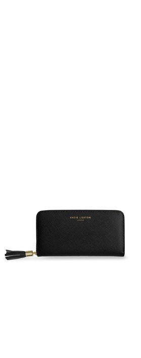 Katie Loxton black tassel purse