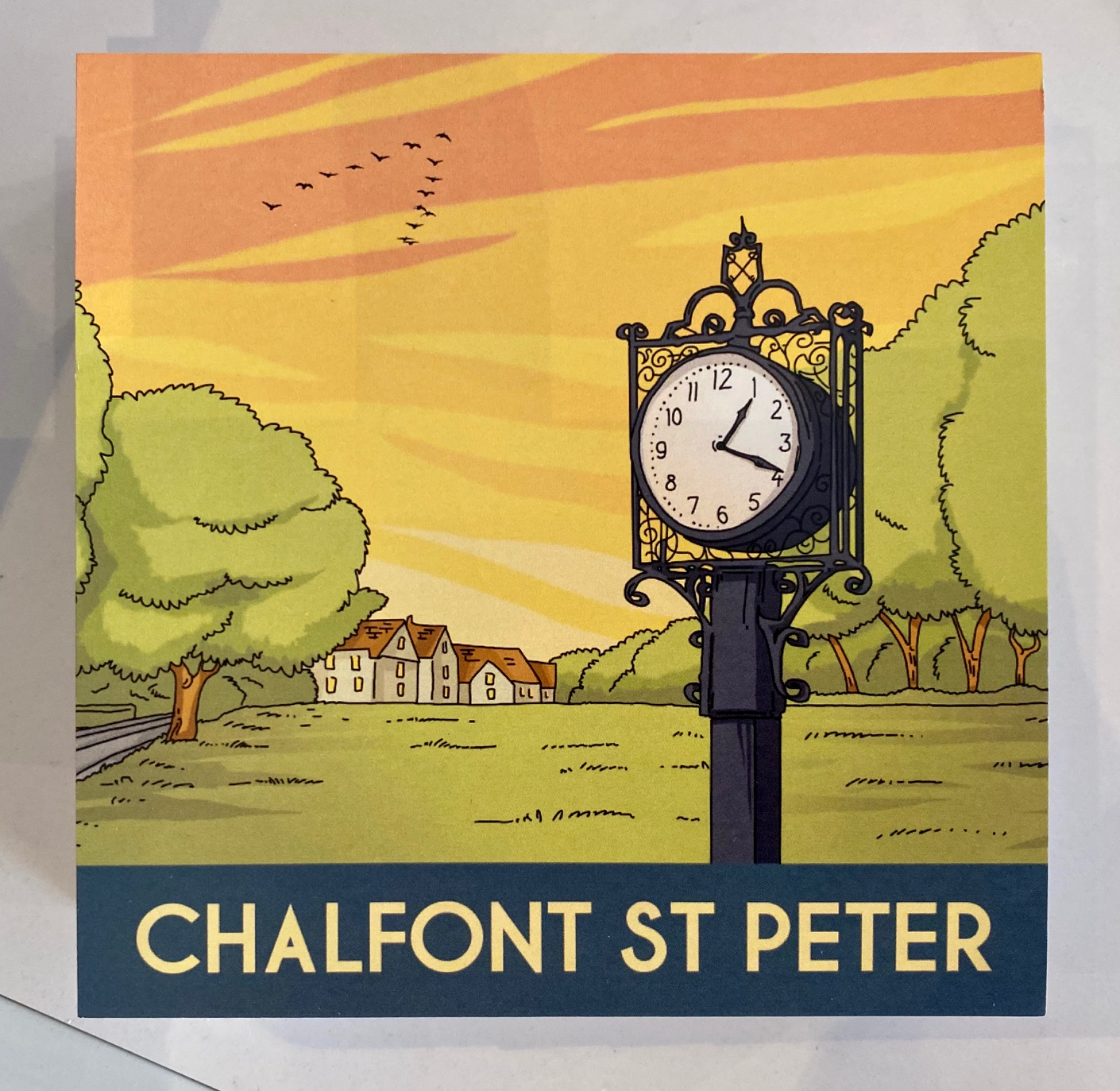 Chalfont St Peter greeting card