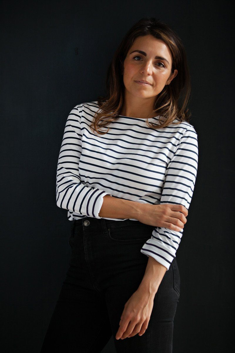 IVY Layla Breton long sleeved t shirt