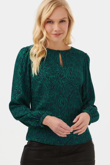 Sugarhill Femi Wild Nights print blouse