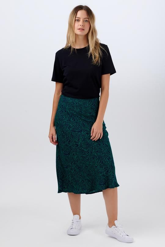 Sugarhill Wild Nights print skirt