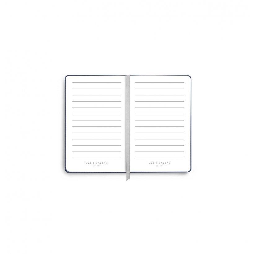 Katie Loxton Luxe metallic mini note book