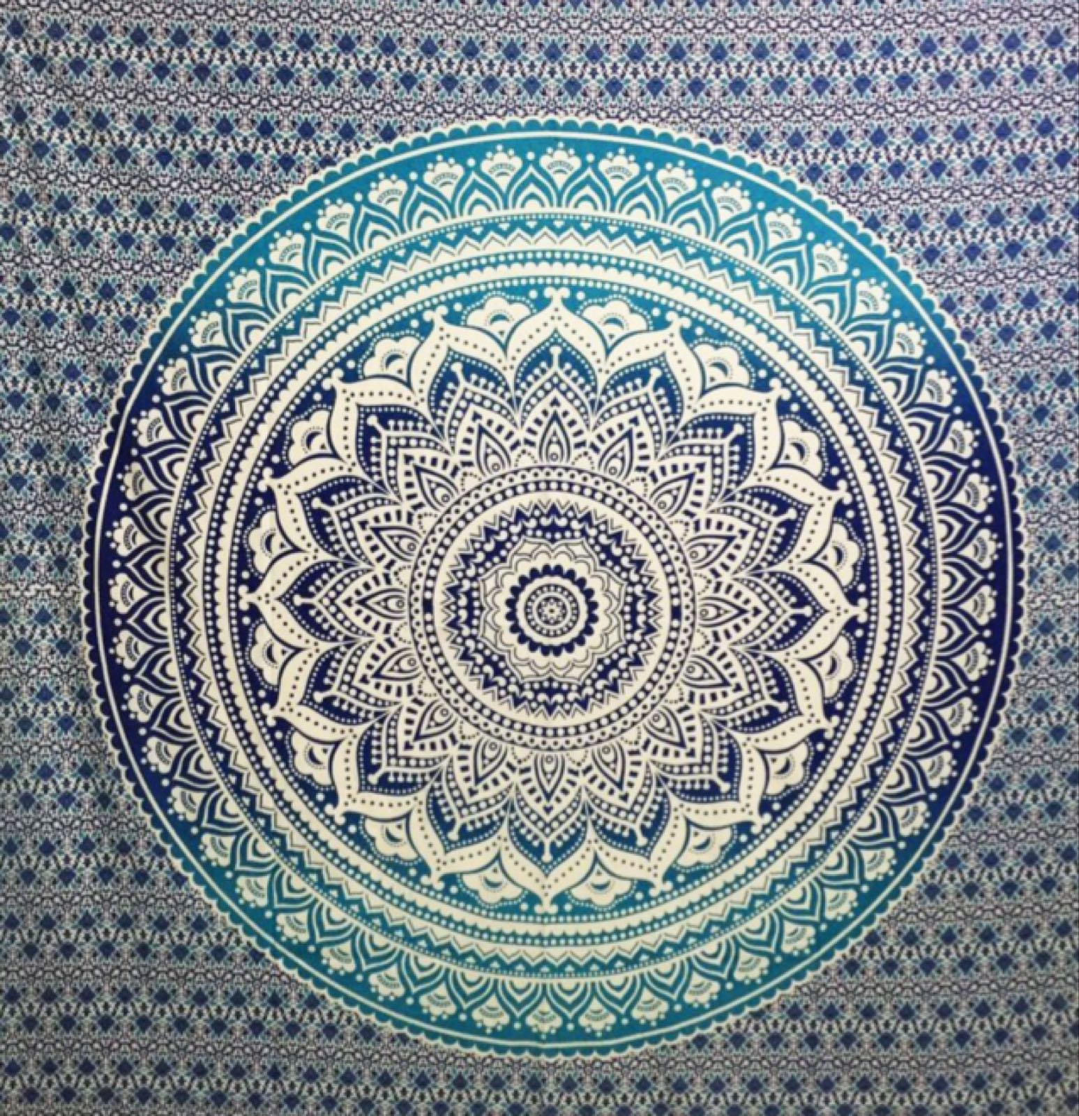 Cotton lotus Mandala