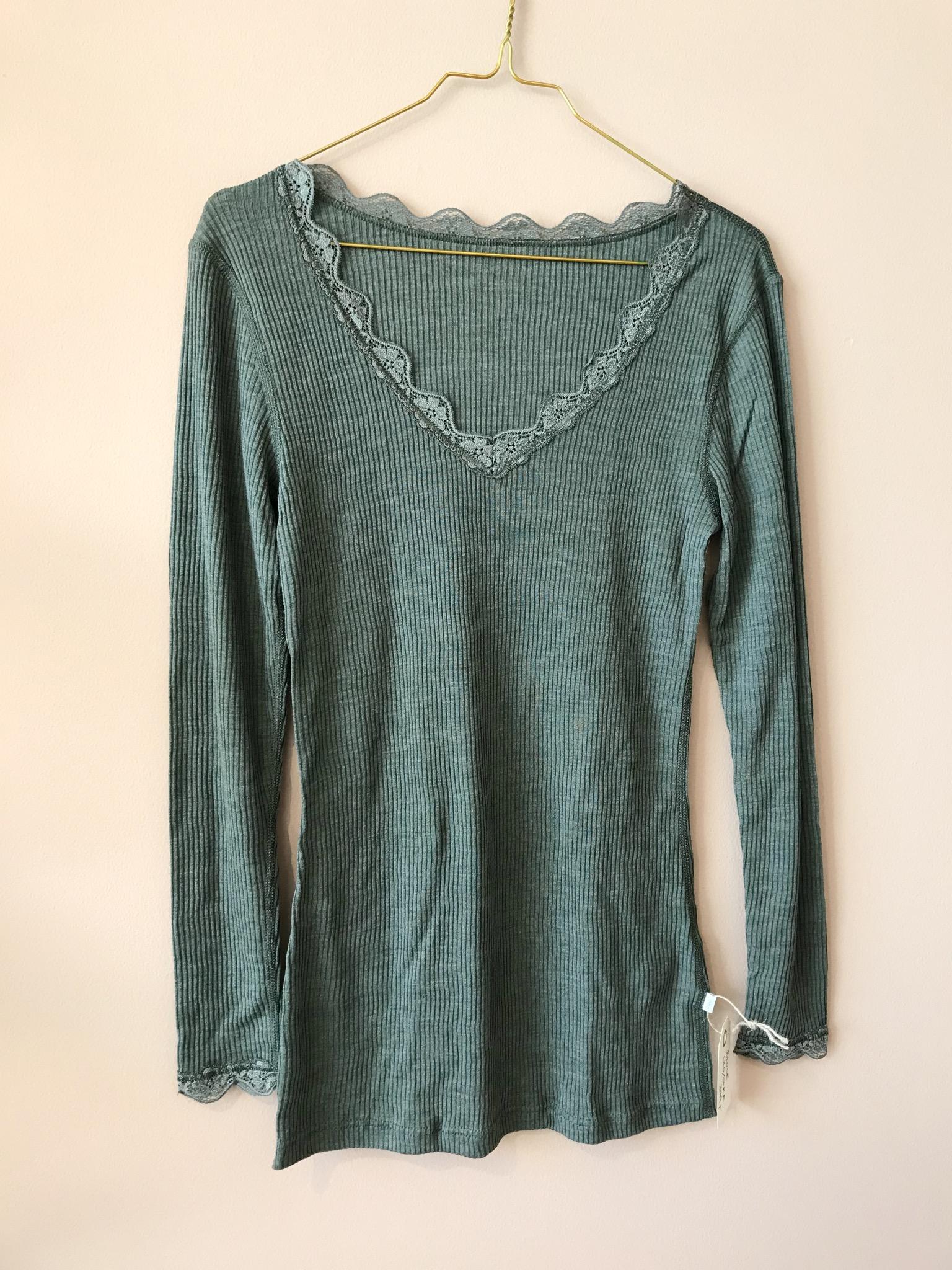 KATE Bluse (uld/silke)