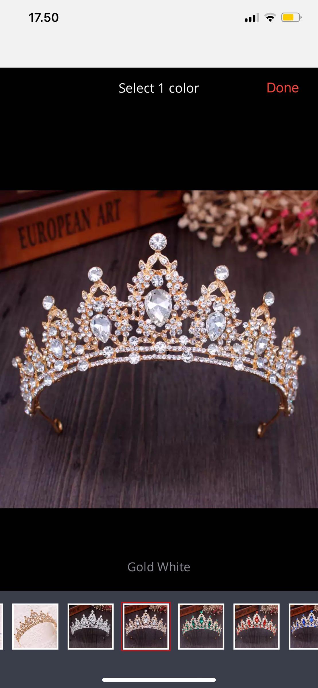 Kruunu, kuningatar kultainen