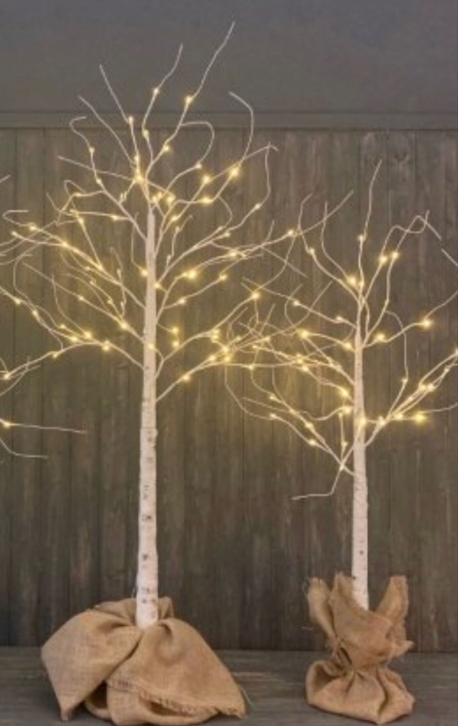 LED mains powered indoor /outdoor tree