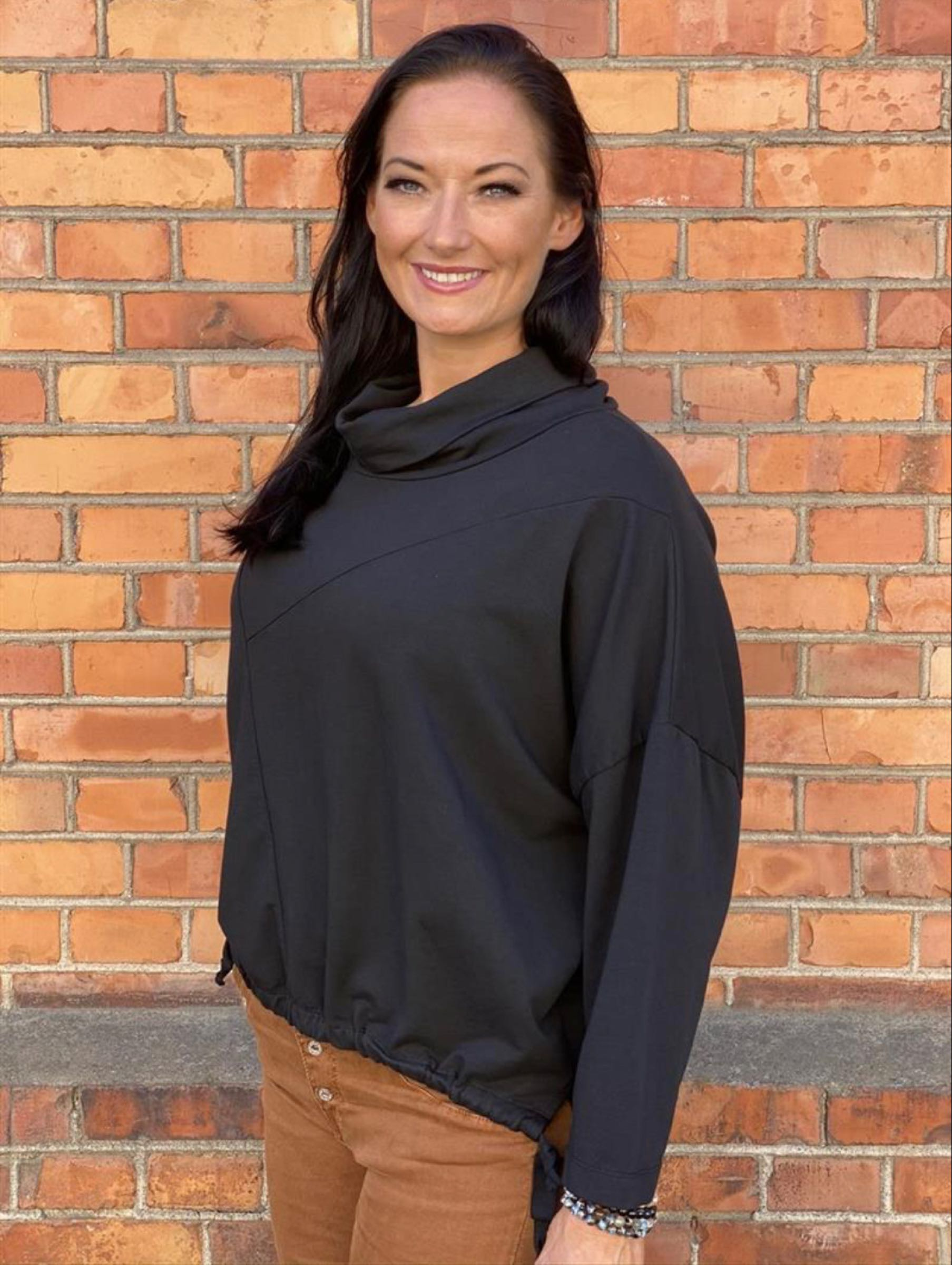 KATRIN sweatshirt, svart