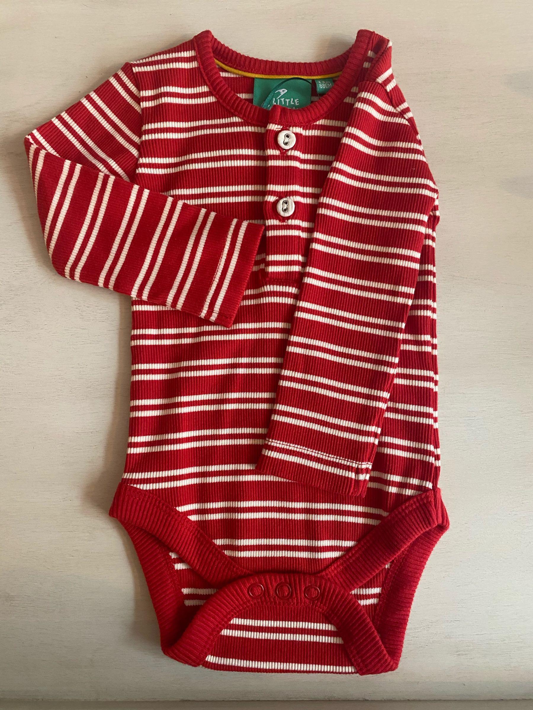 LGR Red Stripes Forever Babybody