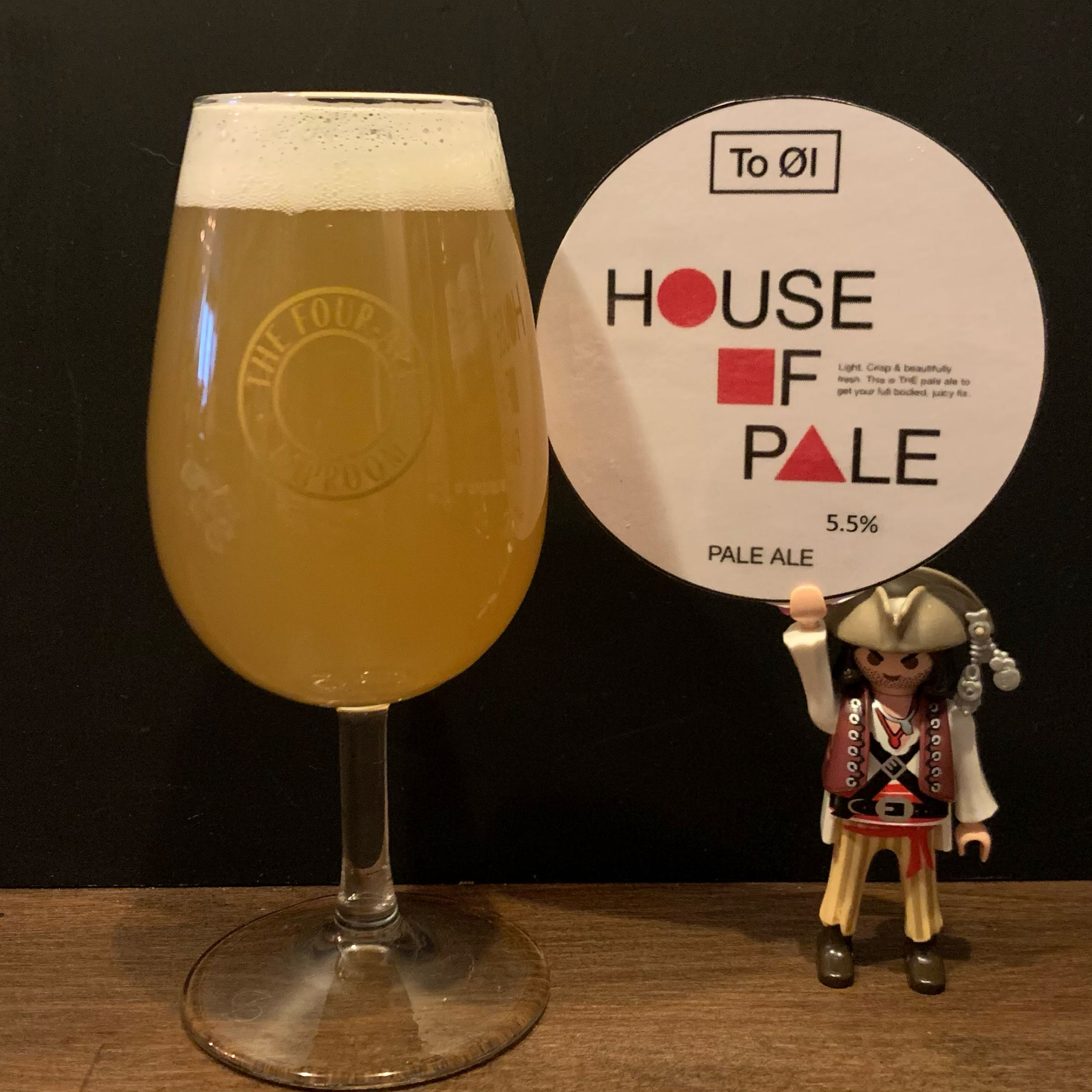 Tap 07 - Craft Keg - To Øl - House of Pale - NEIPA -  5.5% (2 Crowlers)