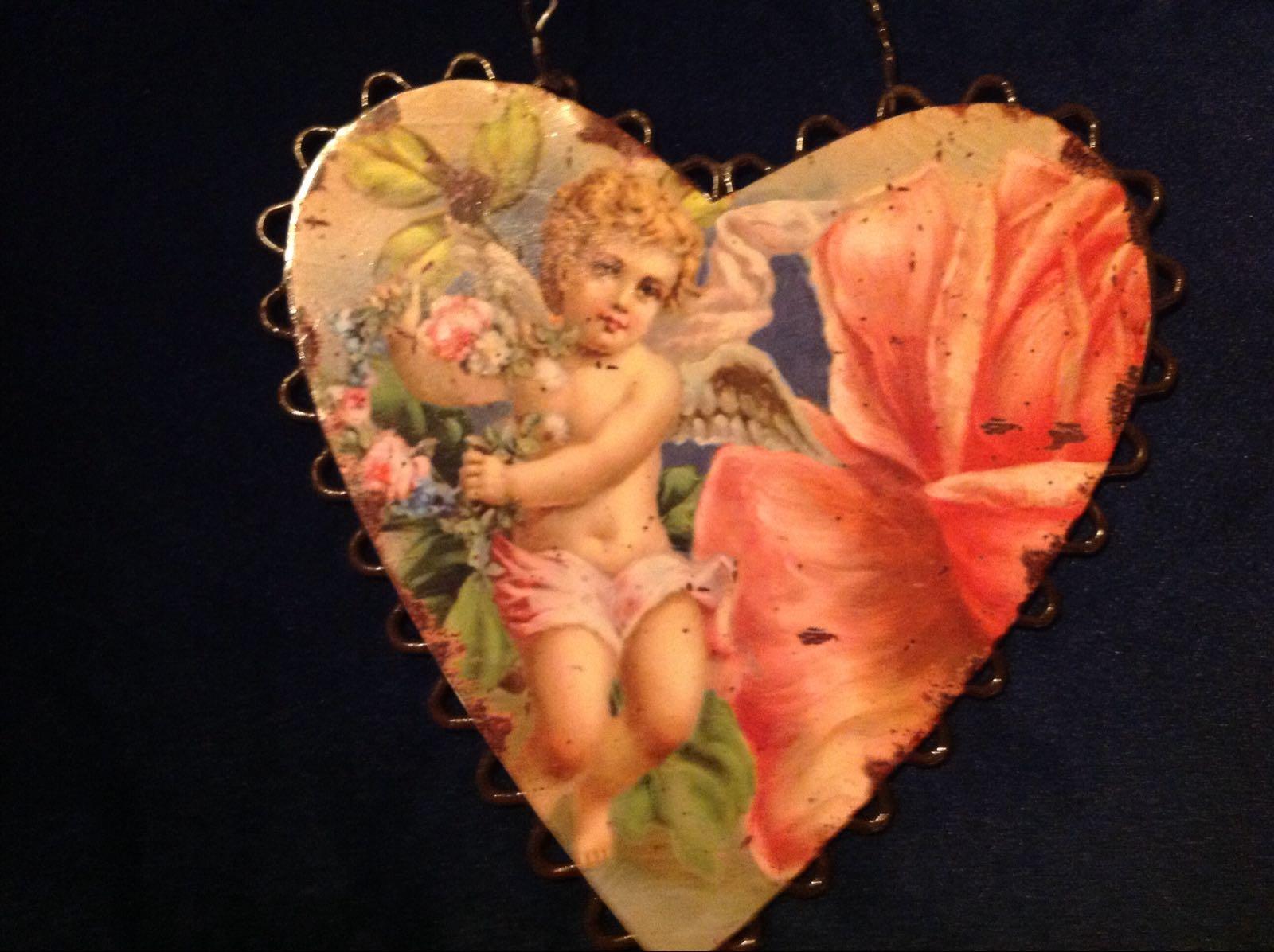 Hjärta (second hand, vintage, retro)