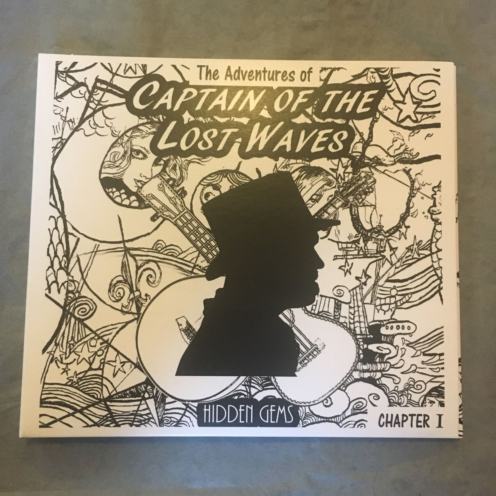 CD - Captain of the Lost Waves, Hidden Gems Chapter 1
