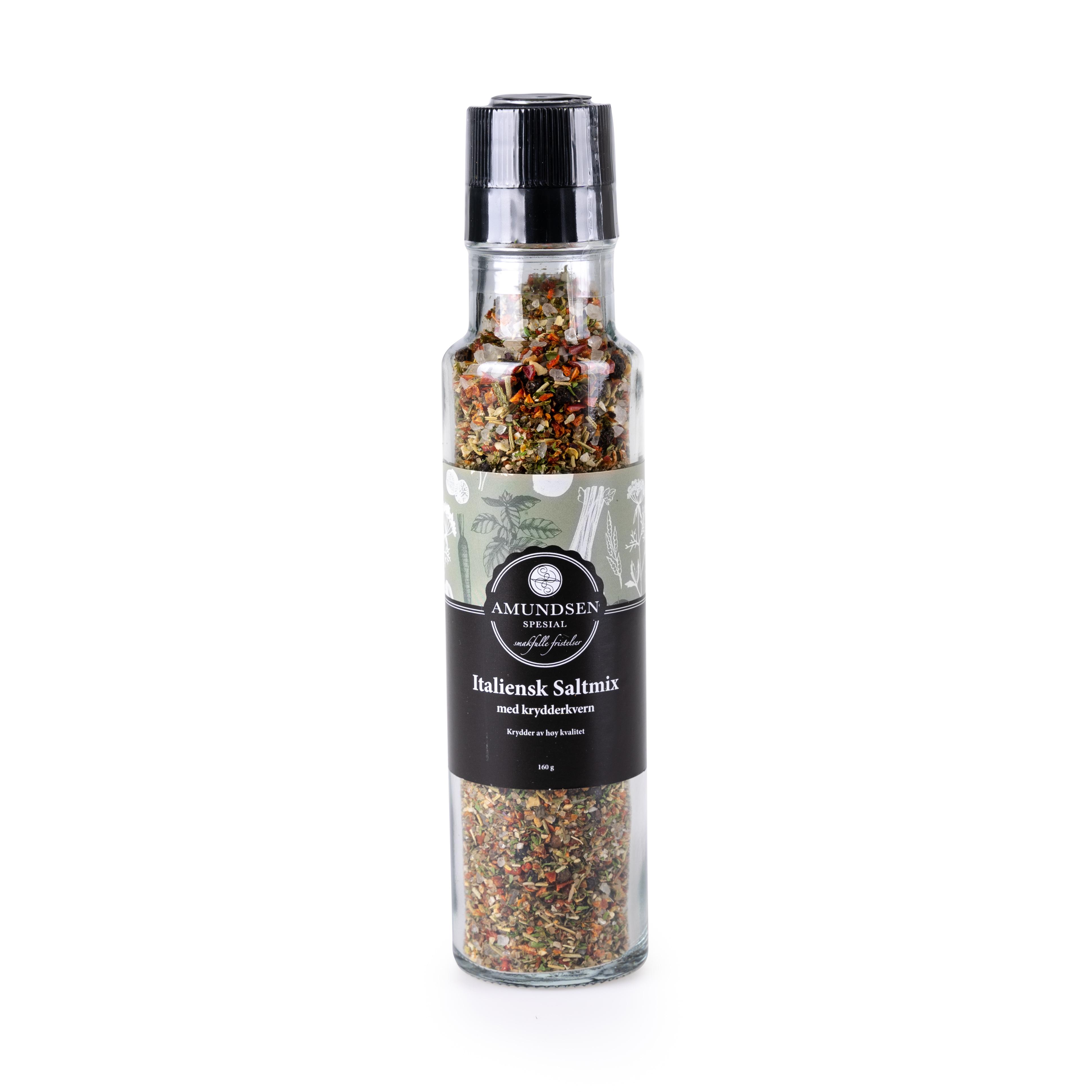 Italiensk Saltmix Krydderkvern