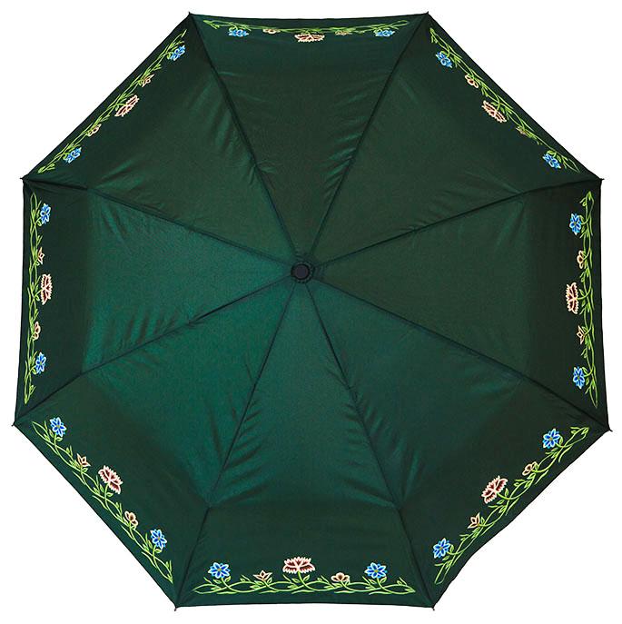 Paraply Grønn Nordlandsbunad