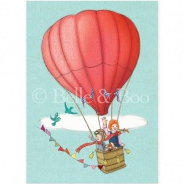 Kort Belle & Boo: Balloon adventure