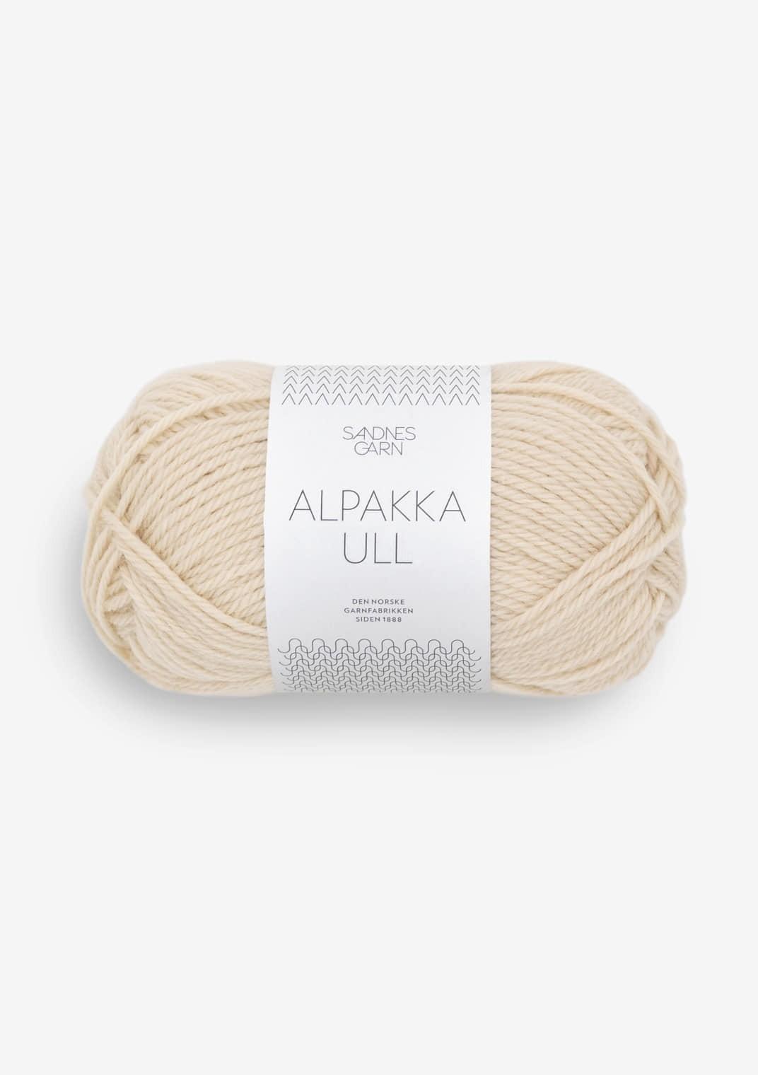 2511 Mandel Alpakka Ull