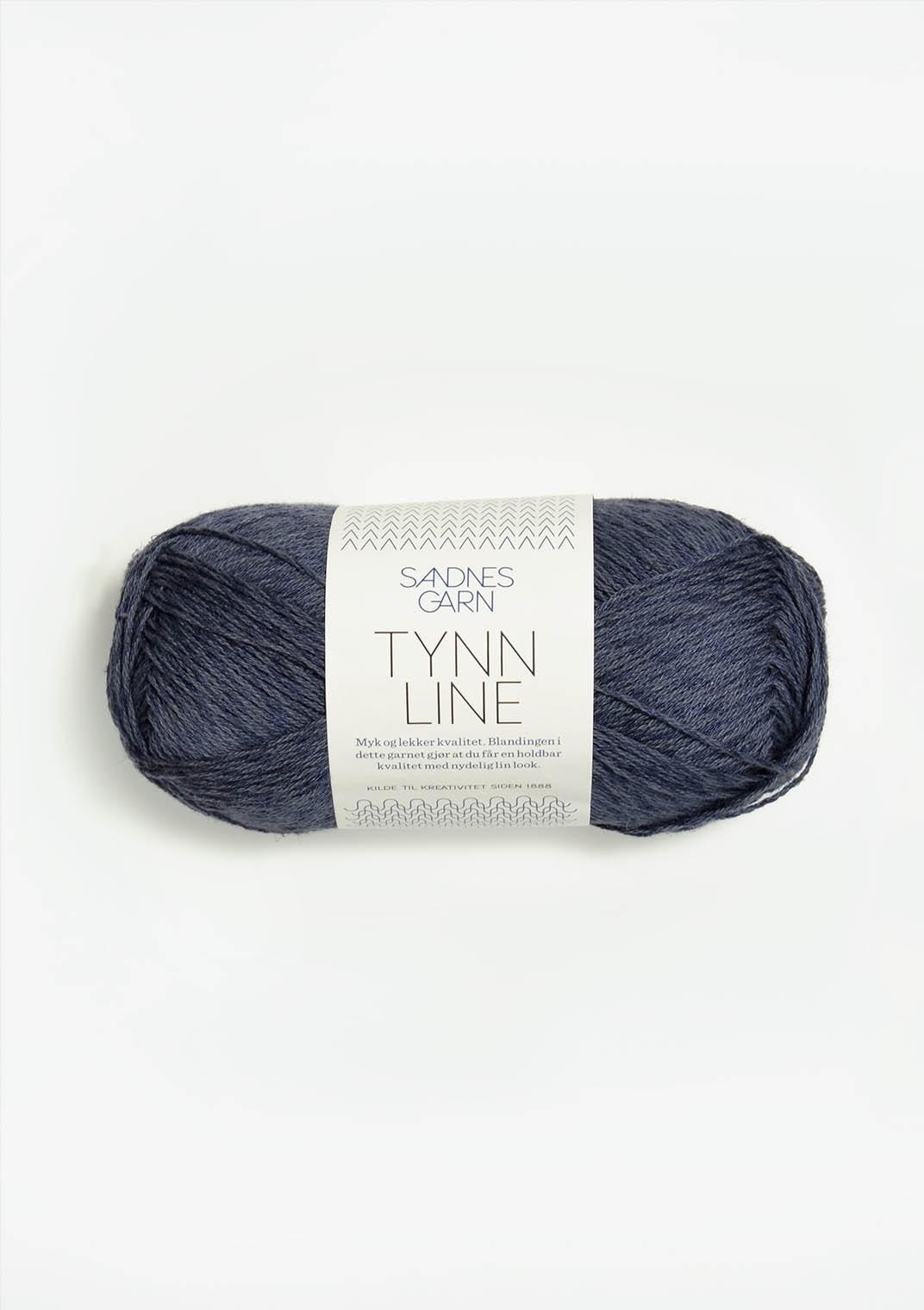 6061 Mørk Gråblå Tynn Line