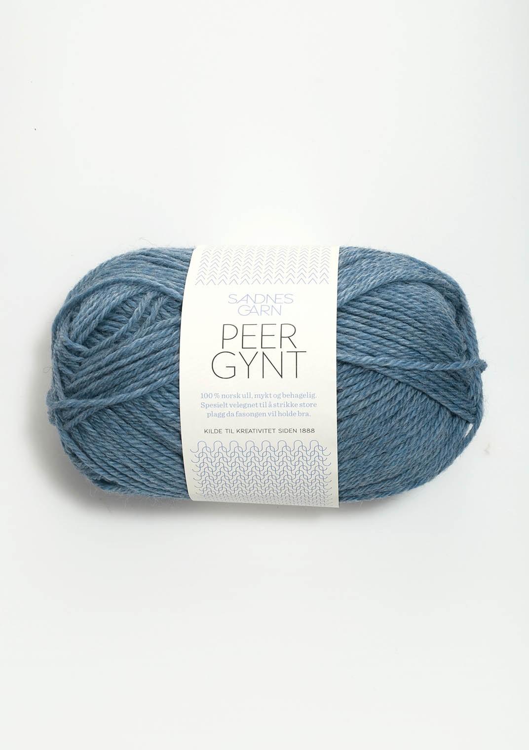 6324 Blåmelert Peer Gynt