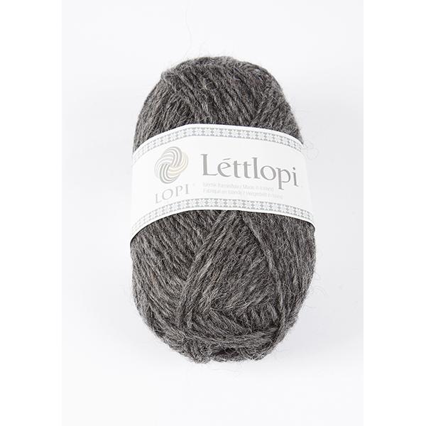 0058 Dark Grey Heather Lettlopi