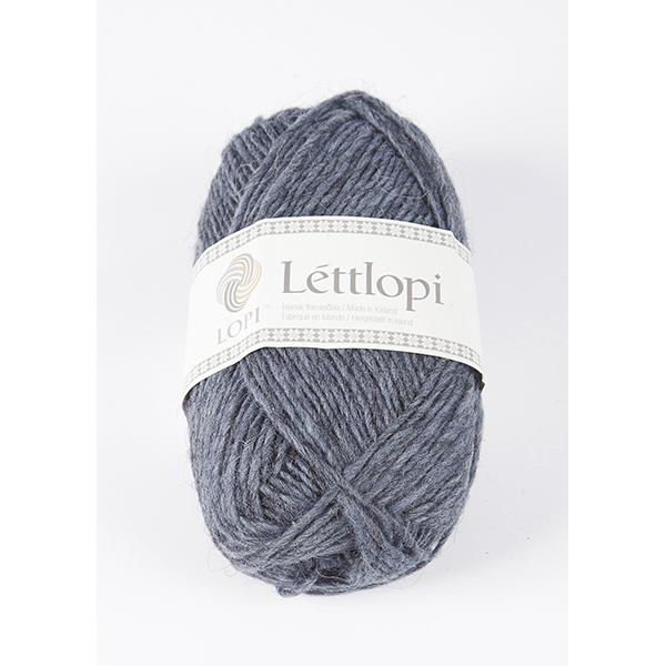 9418 Stone Blue Heather Lettlopi