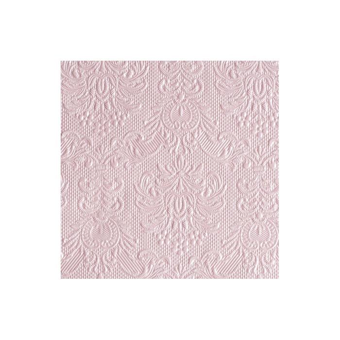 Serviett 25 Elegance Pearl Pink