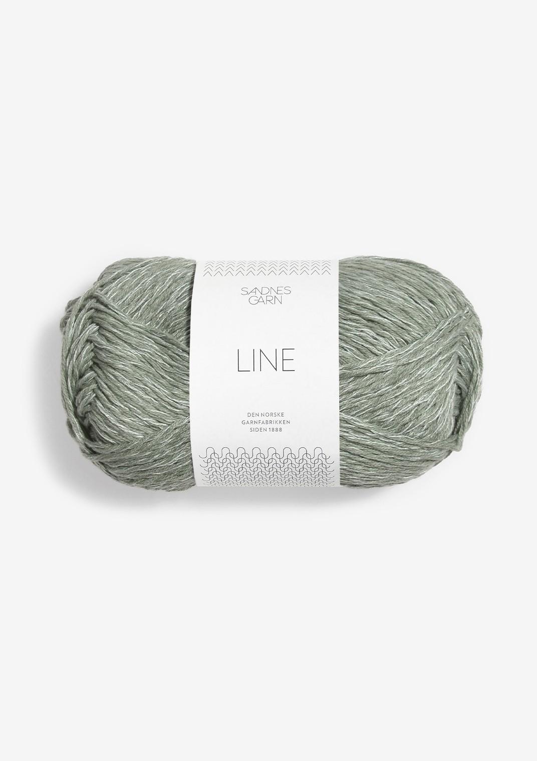 8521 Støvet Lys Grønn Line
