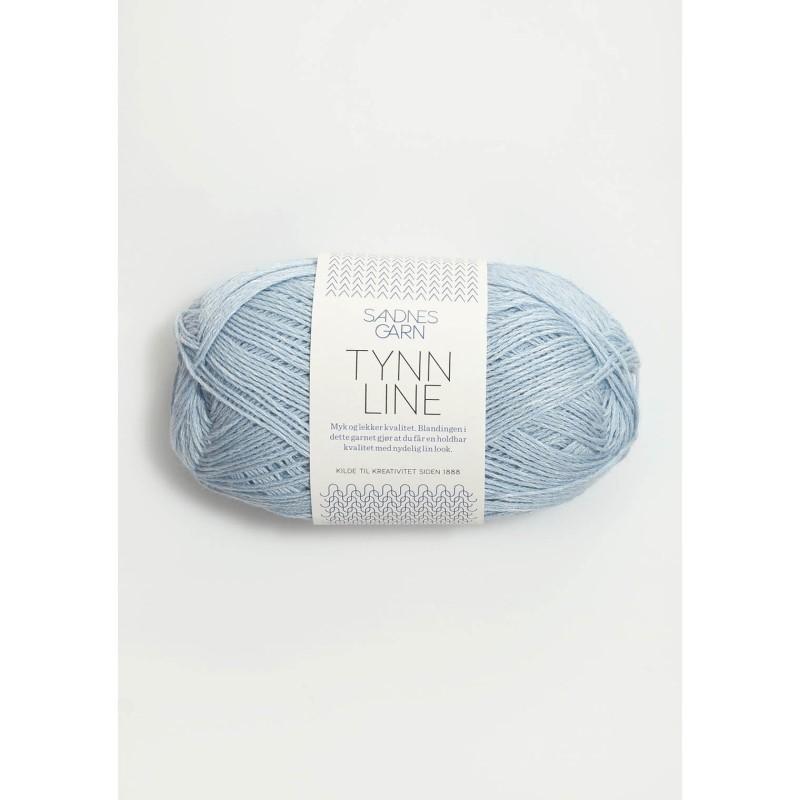 5930 Lys Blå Tynn Line