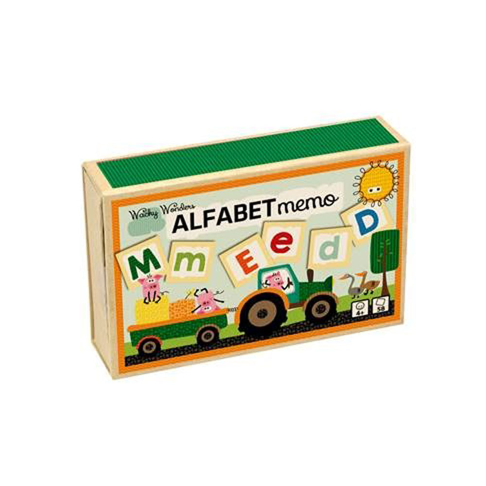 Alfabet memo, Wacky Wonders