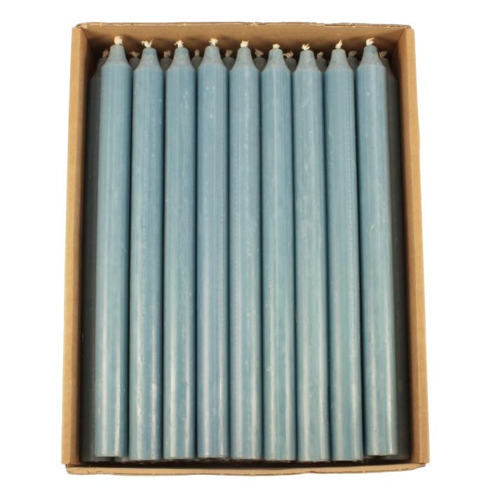 KIRI rustikklys blå 28 cm