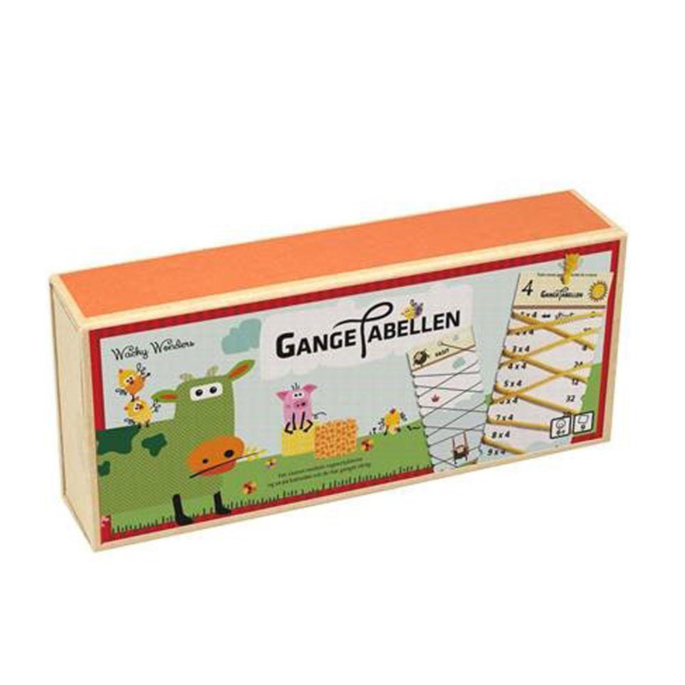 Gangetabellen, Wacky Wonders