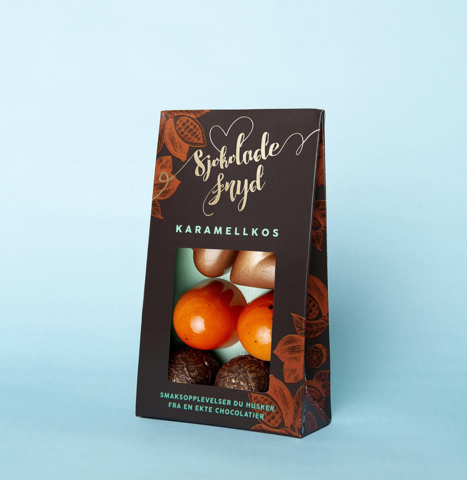 Karamellkos 6 biter Pose Sjokoladefryd