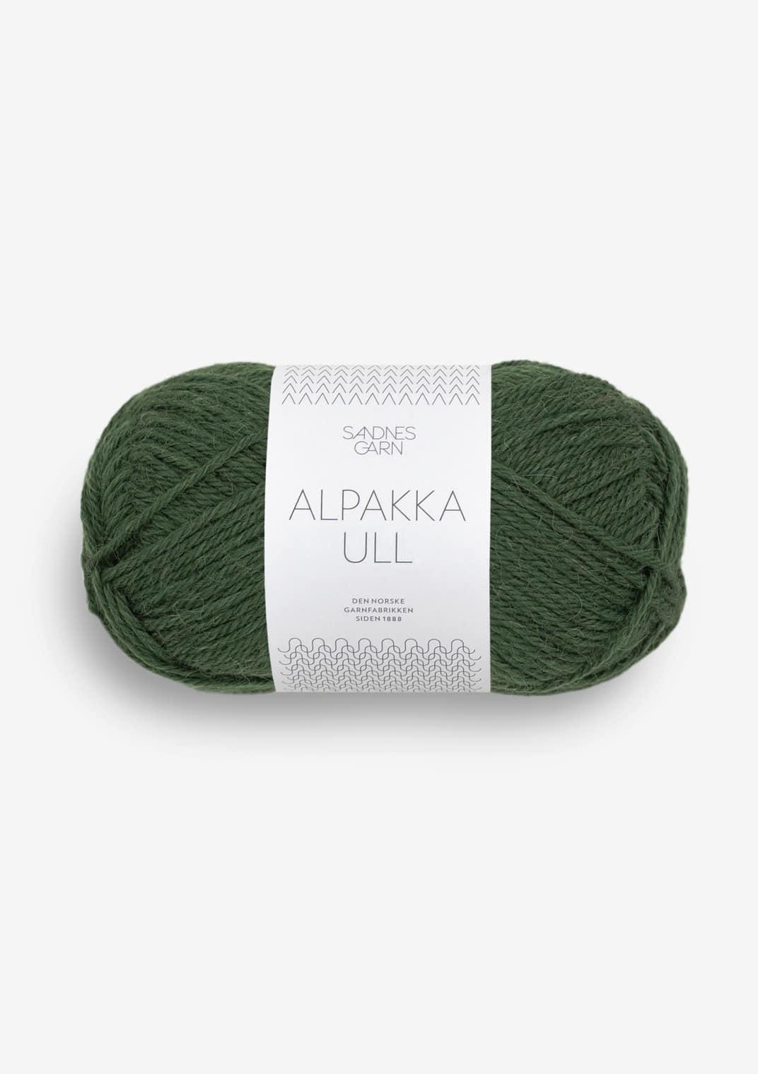 8082 Skoggrønn Alpakka Ull