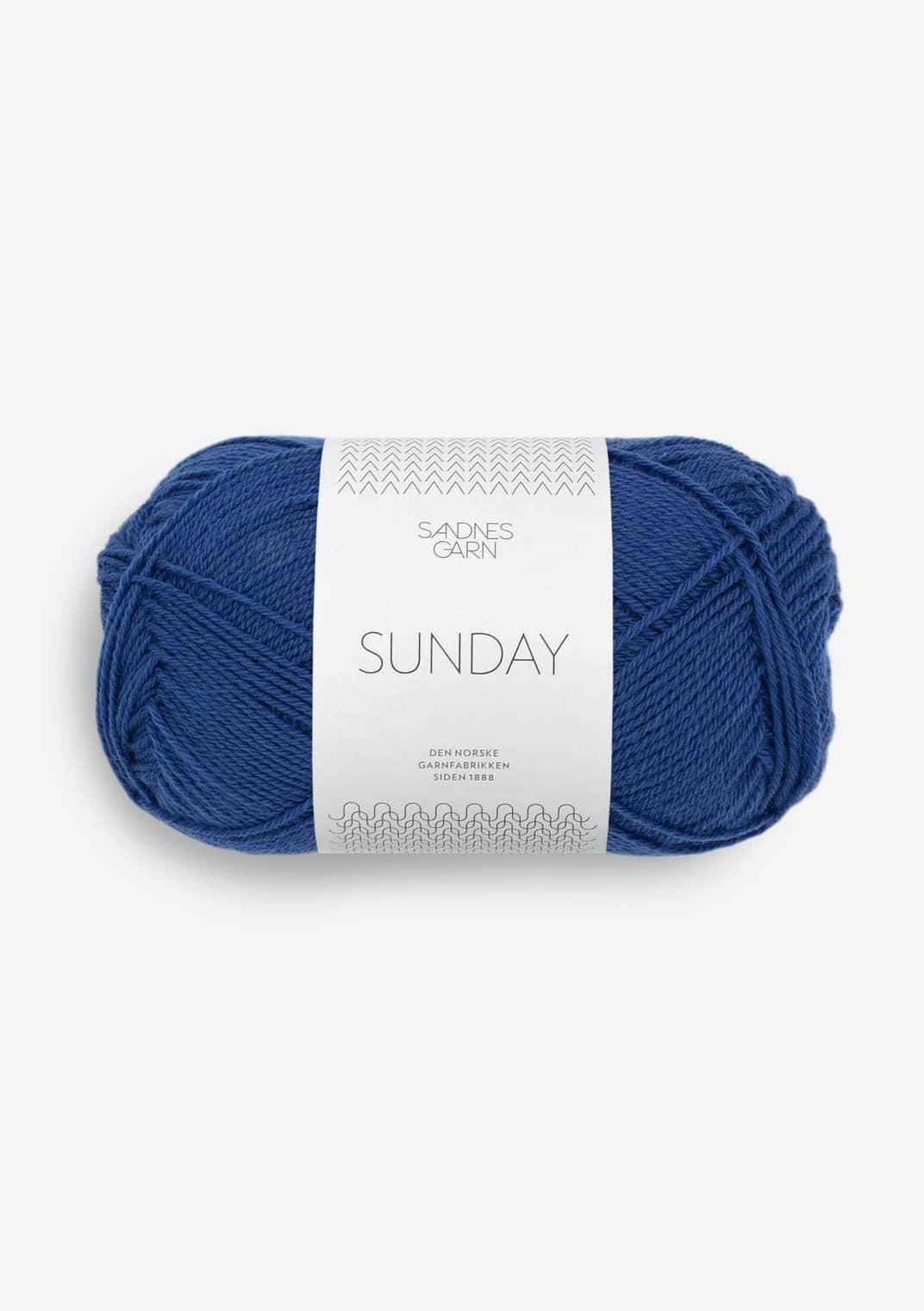 5846 Blå Sunday