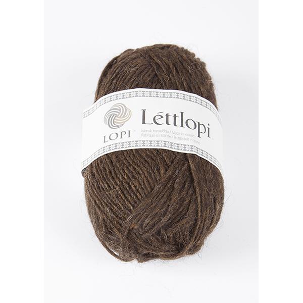 0867 Chocolate Heather Lettlopi
