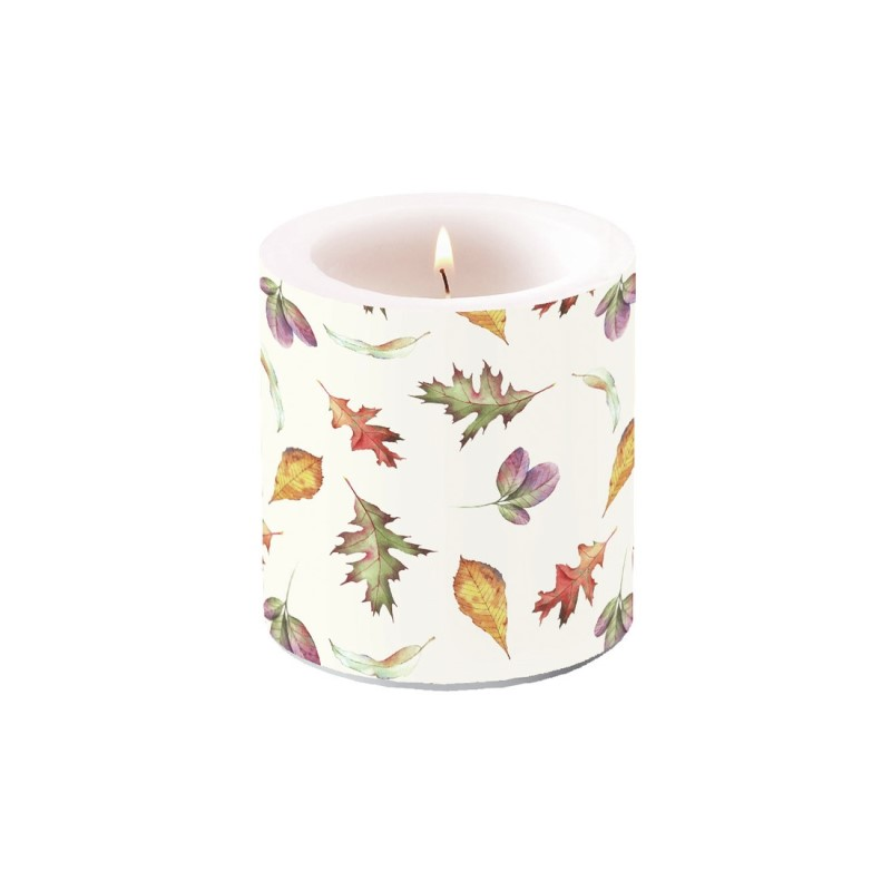 Falling Leaves, Small Candle