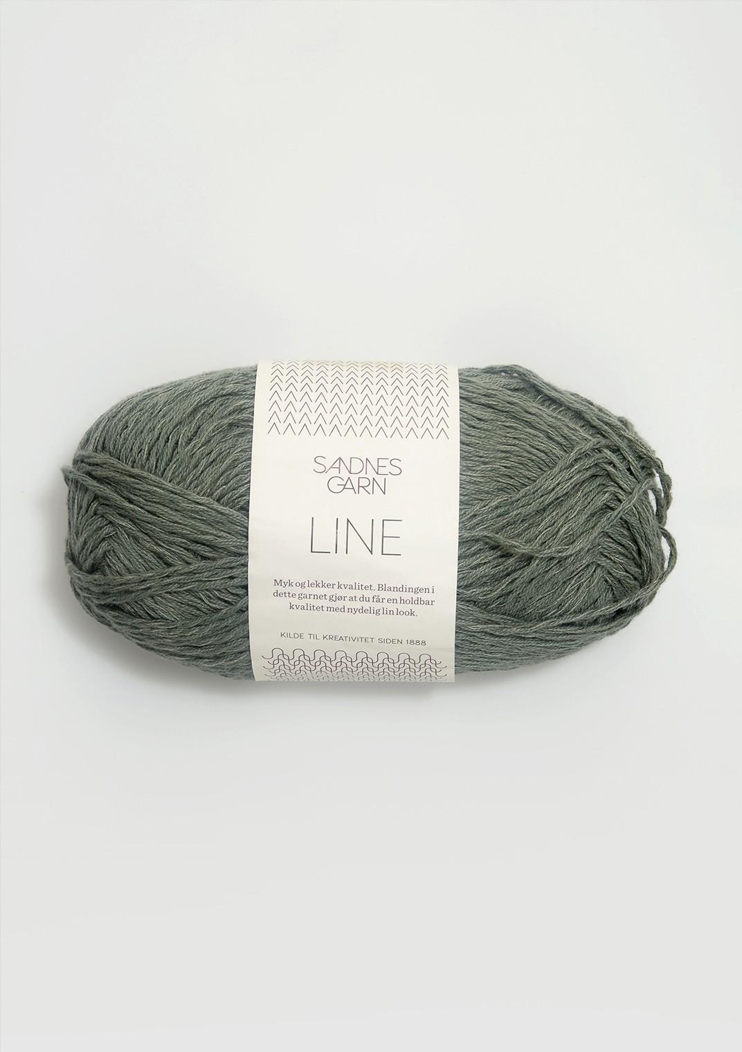 8561 Støvet Grønn Line