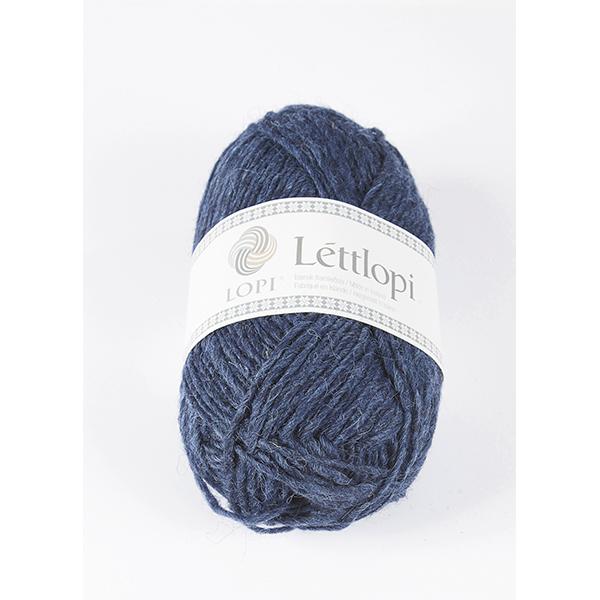 1403 Lapis Blue Heather Lettlopi