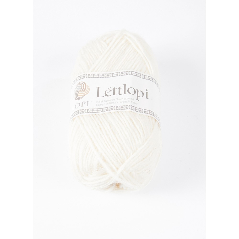 0051 White Lettlopi