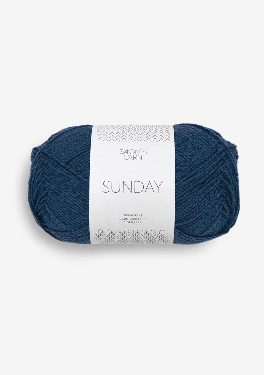 6062 Mørk Blå Sunday