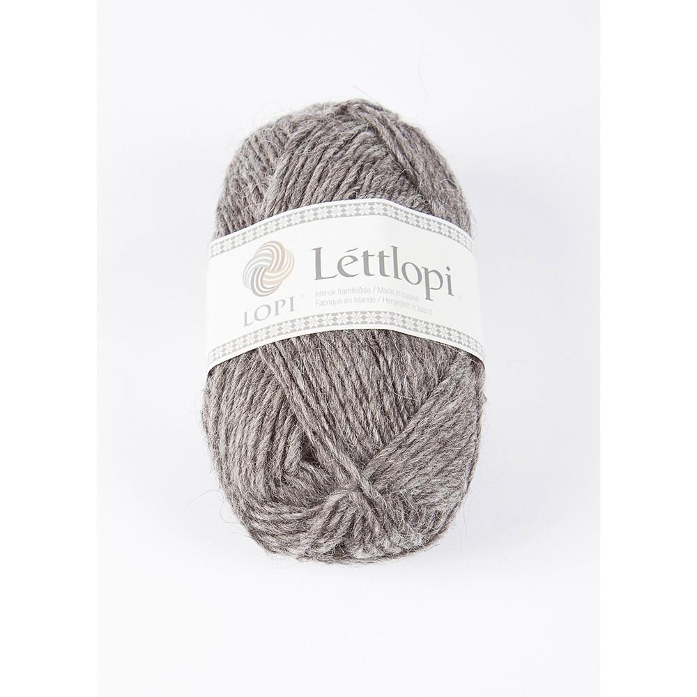 0057 Grey Heather Lettlopi