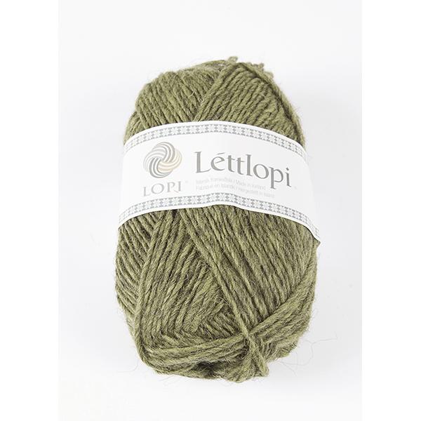 9421 Celery Green heather, Lettlopi