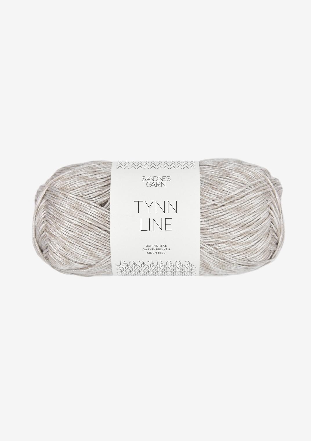 3820 Perlegrå Tynn Line