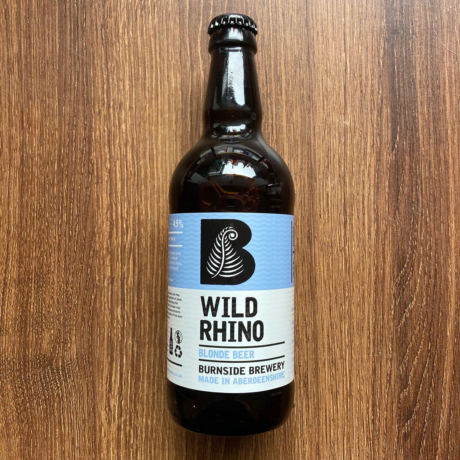 Wild Rhino - Burnside Brewery