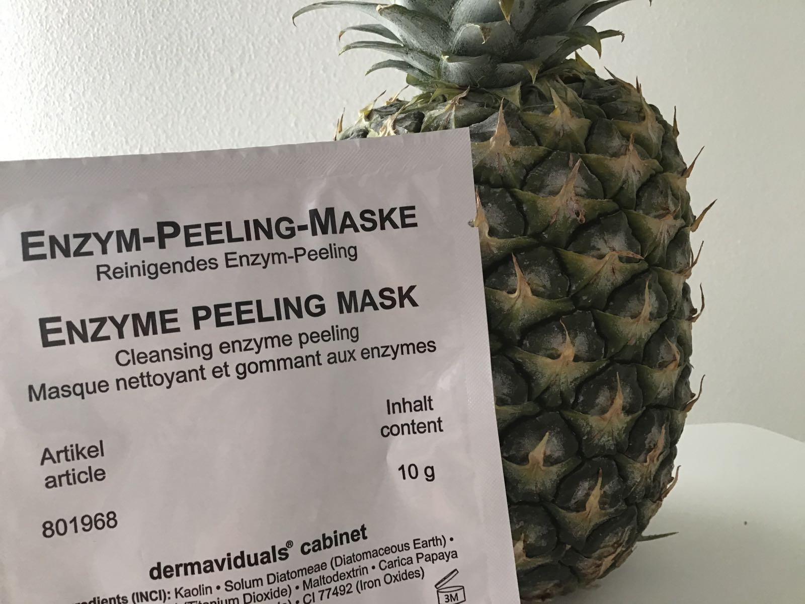 Enzym-Peeling-Maske