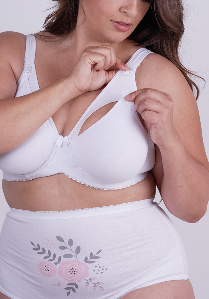 Stretch Cotton Maternity Bra