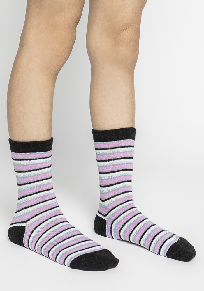 Multi-Coloured Stretch Cotton Socks (5 pairs)