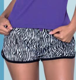 Printed Pyjama Short Set