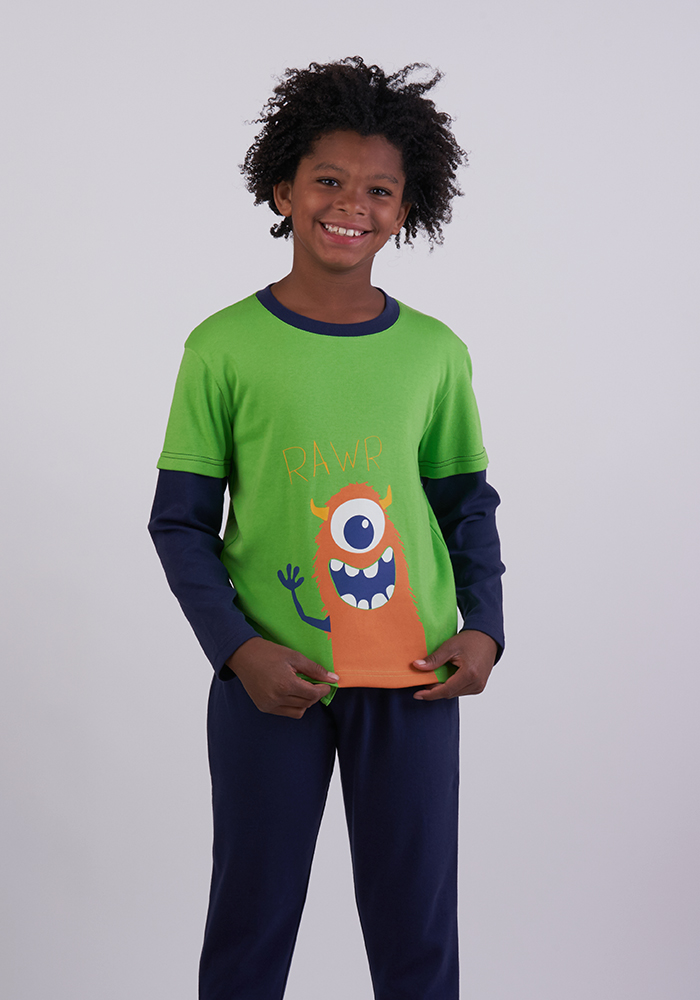 Monster Pyjamas Pant Set