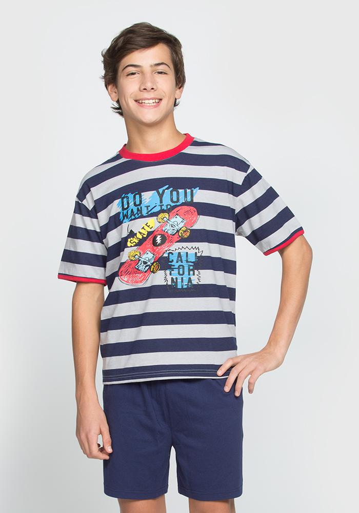 Skate Pyjama Shorts Set